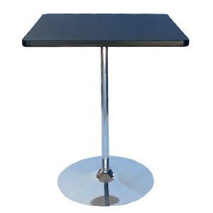 BT203-36 Tulip Bar Table SQ Black