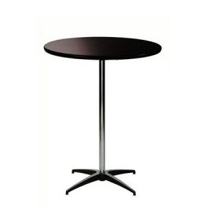"BAR PEDESTAL TABLE 36""RND"