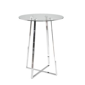 "URSULA BAR TABLE 32"" RND"
