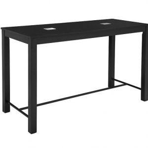 BT505 Social Bar Table USB Black
