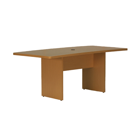 6' RECT. TABLE W/WIRE MGMT.