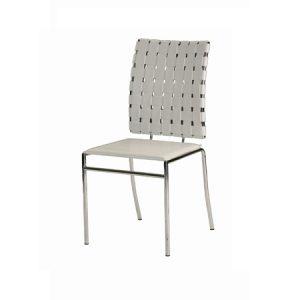 CH107 Criss Cross Chair White