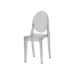 CRYSTAL SIDE CHAIR