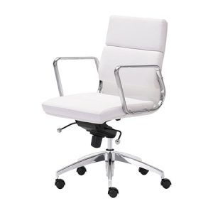 CO503 Engineer Midback Chair White