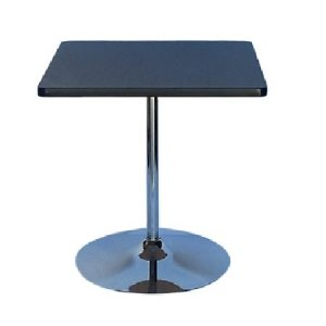CT204-36 36SQ Tulip Table Black