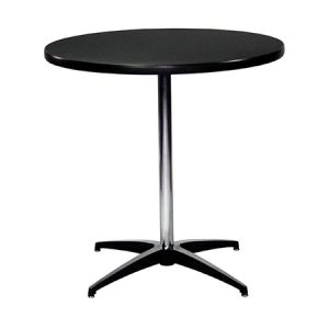 "PEDESTAL TABLE 30""RND"