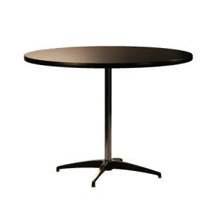 "PEDESTAL TABLE 42""RND"