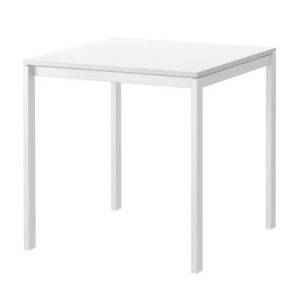 CT318 Molly Table Square White