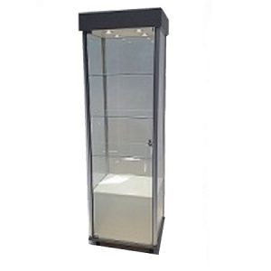 EU210 Premo Display Cabinet 4 Shelf Close