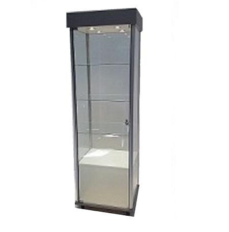 Premo Display Cabinet Lockable Lighted 110v