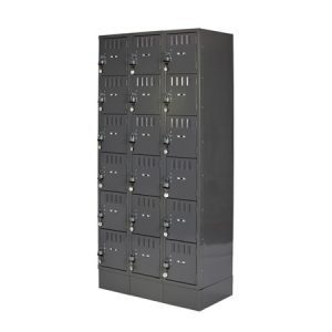 LOCKER 18 CUBE W/ LOCKS CUBE SIZE 12x18x12