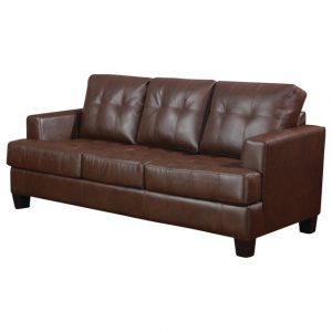 SAMUEL LEATHER SOFA