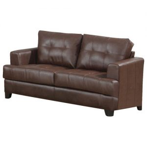 SAMUEL LEATHER LOVESEAT
