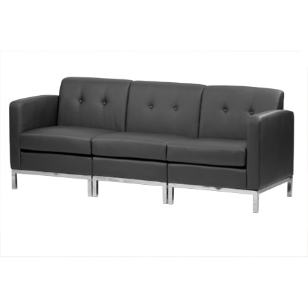 WALL ST LEATHER SOFA