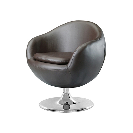 BOUNCE LEATHER SWIVEL CHAIR