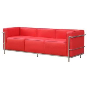 KITSON LEATHER SOFA