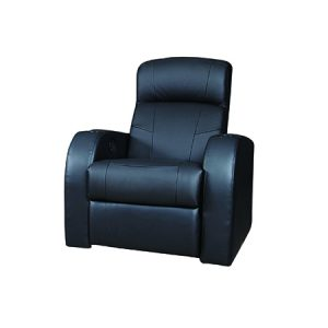 LG960 Theater Seating Single Black
