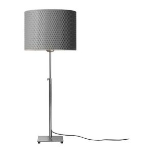 LP963 Alan Table Lamp, Adj Gray Shade
