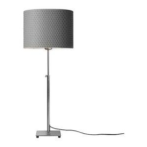 LP963 Alan Table Lamp, Adj Gray Shade