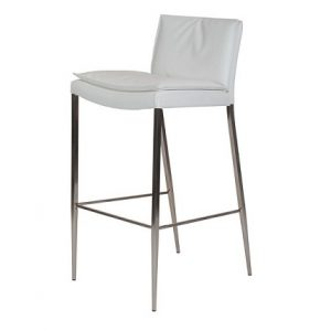 BS130 Summer Bar Stool White
