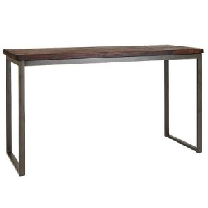 BT506 Shelby Bar Table Walnut - Grey