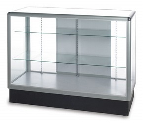 EU207 Tek Full View Display Case Lockable