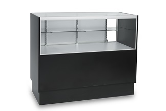 EU208 Carter Quarter View Display Case Storage Front
