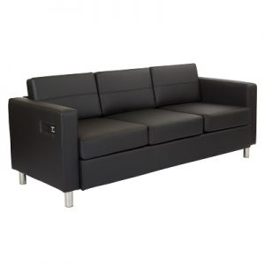 LG925 Ritz Sofa With Power&USB Black