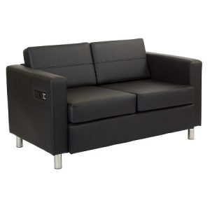 LG926 Ritz Loveseat With Power&USB Black