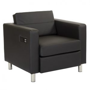 LG927 Ritz Chair With Power&USB Black